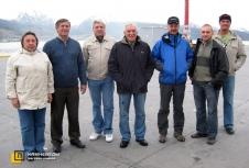Группа научных сотрудников Геологического института РАН