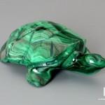 Черепаха из малахита