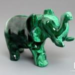 Слон из малахита