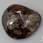 Агат мадагаскарский, полированная галька 9,6х8,8х5,1 см