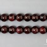 Альмандин (гранат), нитка с бусинами для рукоделия 6-7 мм