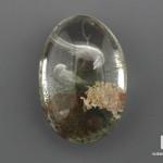 Горный хрусталь «Аквариум» с инталией, 3,8х2,6х1,5 см