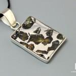 Кулон метеорит «Сеймчан», 2,7х1,7х0,3 см