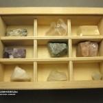 Коллекция минералов и их разновидностей (30 образцов, состав №2) в деревянной коробке