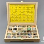 Шкала Мооса в деревянной коробке