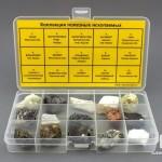 Коллекция полезных ископаемых (15 образцов, состав №2)