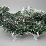 Клинохлор, полированный срез 26х12,3х2,3 см