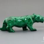 Пантера из малахита, 9,4х3,3х2,4 см