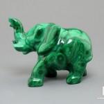 Слон из малахита, 5,6х4,3х2,7 см