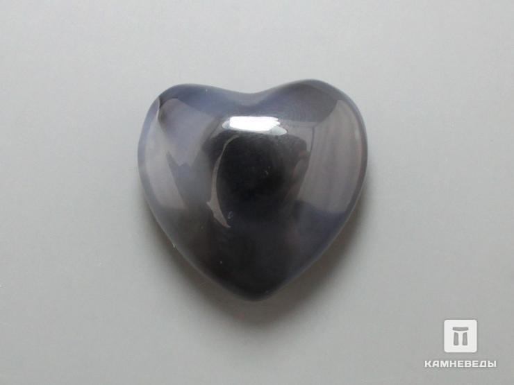 Сердце из агата, 2,5x2,5х1,2 см