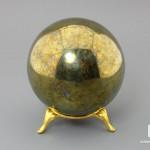 Шар из халькопирита, 75 мм