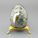Яйцо из яшмы океанической, 6,3х4,5 см