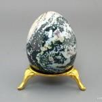 Яйцо из яшмы океанической, 6х4,6 см