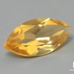 Цитрин, огранка 10х5х3,5 мм (0,9 ct)