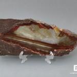 Агат, полированный срез 21х9,4х1,1 см