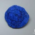 Азурит, полированный срез 4х3,8х1 см