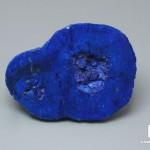 Азурит, полированный срез 4,5х3,3х1,6 см