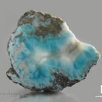 Ларимар, полированный срез 8,7х7,6х1,9 см