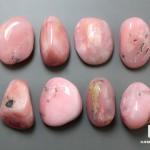 Опал розовый, галтовка 2,5-3 см