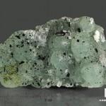 Бабингтонит на прените, 6,9х4,1х1,9 см