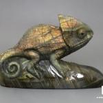 Хамелеон из лабрадора, 10,5х6,9х3,8 см