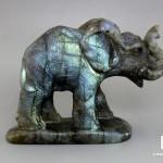 Слон из лабрадора, 10,7х7,5х4,1 см
