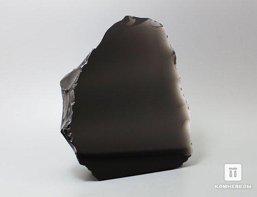 Обсидиан, полированный срез 14,8х13,6х5,1 см