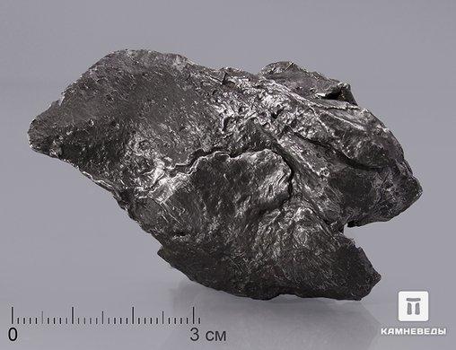 Метеорит Сихотэ-Алинь, осколок 6,4х4х1,7 см (78,3 г)