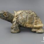 Черепаха из агальматолита, 8х4,1х3,8 см