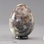 Яйцо из дендритового опала, 6,1х4,8 см